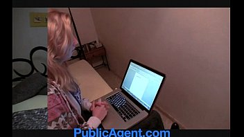 publicagent maya bangs me for her.