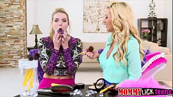 mother sasha guides cosima in g/g onanism and orgy