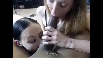 interracial 3 way with dual bj