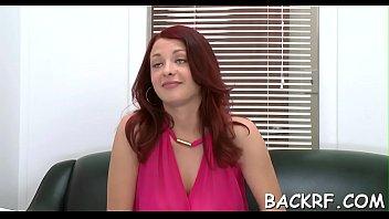 tempting intercourse model plays jock of her whorey interviewer