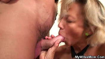 his wife039_s mummy blackmailed him into supah hot fuck-fest