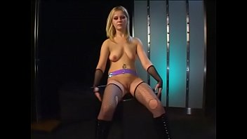 brainy blond pole dancer was putted from the.