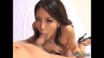 beautiful japanese hottie saya blowing uncensored