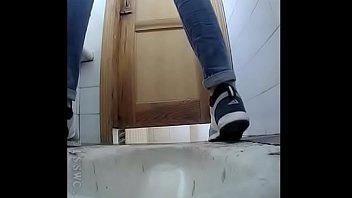 covert webcam in school rest room.