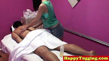 ethnic masseuse on hidden cam stroking