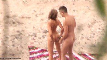 covert web cam make a sexvideo on a beach