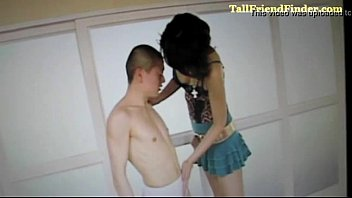 japanese tall nymph romps masculine