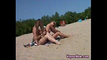 nubile naturist at the beach