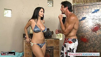 dark haired cougar ava addams gets humungous hooter-sling-stuffers nailed