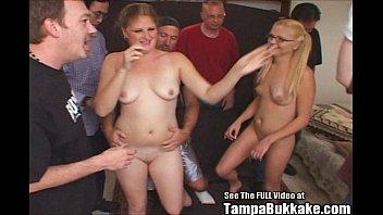 teenie dropout women jizm exchange gargle.