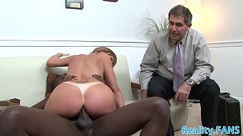 humungous-boobed mature hoe cuckolds husband with xxl ebony fellow-meat