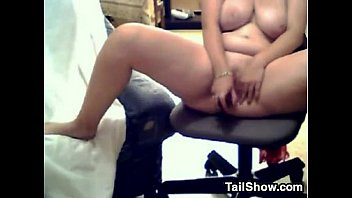 immense tart with massive hooters faps using her plaything