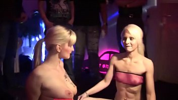 two gorgeous blond gfs in swingers.