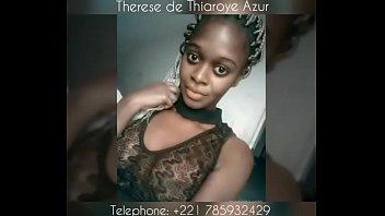 bashful african teenage student from senegal thiaroye -.