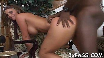 ebony penis in milky vagina