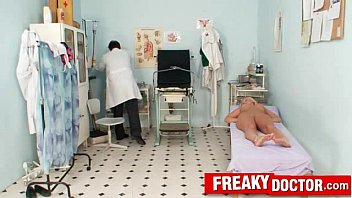 filthy aged and youthful medical fetish polyclinic porno.