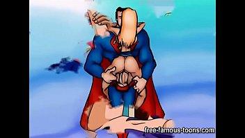 batman and superman boinking gals
