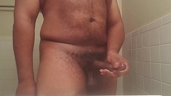 jacking off in the douche