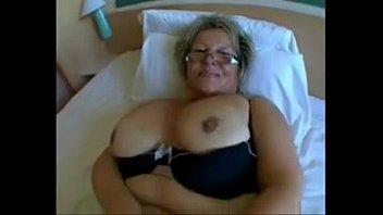 gigantic stunner grannie with huge udders in aggressive.