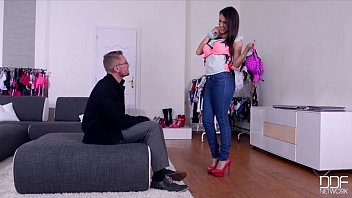 ddf network - salesgirl gets her caboose and.