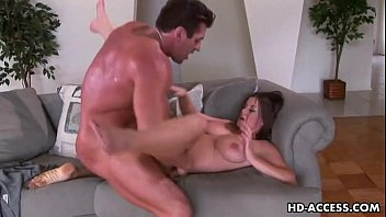chesty sweetheart sara stone gets punctured.