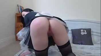 french maid striptease marvelous - more flicks at nakedgirl88webcam