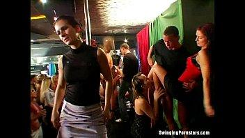 supah-naughty soiree nymphs inhale and plumb in club hook-up