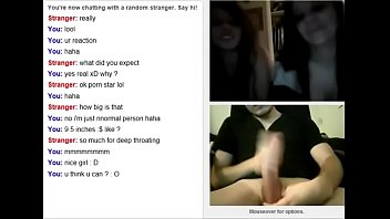 slutsrouletecom  omegle times 2 gals witnessing his.