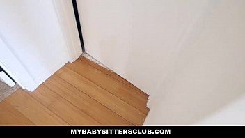 mybabysittersclub - curvaceous childminder pulverized to keep the job