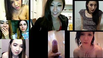 ultra-kinky japanese nymphs react to popshot.