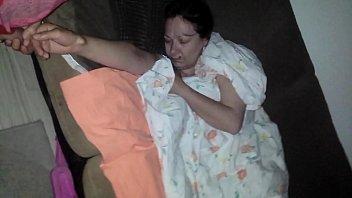 sleeping mummy jacking stepson