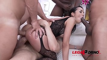 spanish hoe francys belle loves raunchy dual assfucking.