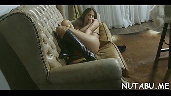 nubile honey gets off from deep and vehement.