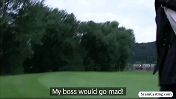 blondie porked at golf course doggystyle