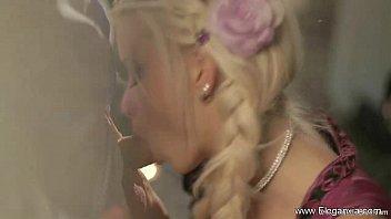 silver-blonde fellucia finest blow-job ever