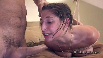 roped up smallish hotty anal penetration.