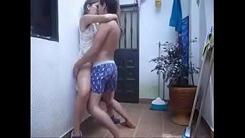 sexo latino mexicana con su primo
