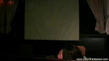 dutch sandy-haired pummeled in vid theatre