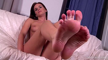 intercourse movie casting for foot adore with bashful.