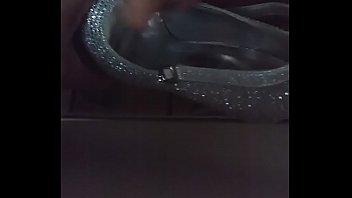spunking on cousin039_s high heel